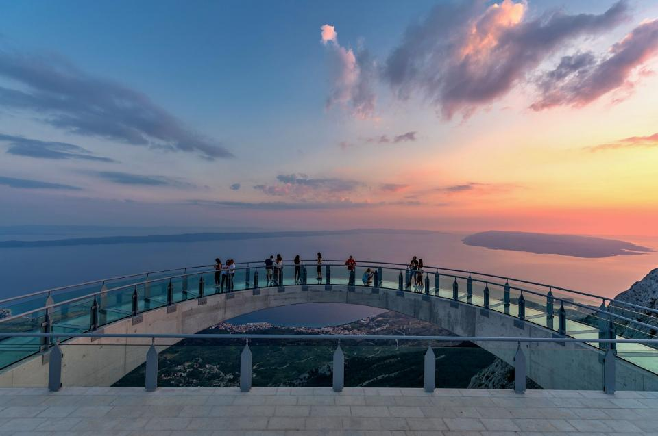 Biokovo, skywalk, Makarska, attraction, promenade, outlook, www.zadarvillas.com